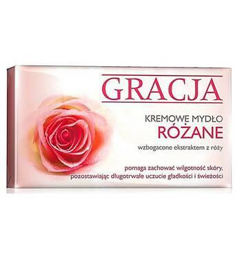 Крем-мило Gracja Rose c екстрактом троянди 90 г, Польща