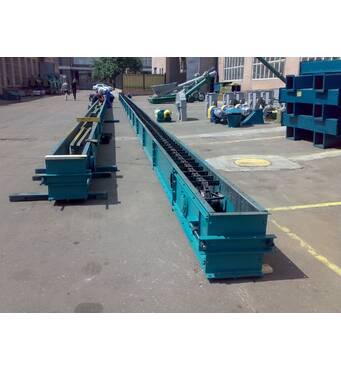 Скребковый транспортер 175 т/час