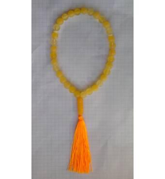Четки 100% натуральный янтарь шар матовые (не пресс, не плавка) 33 бусины 9 мм