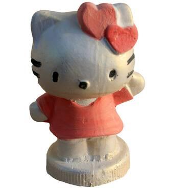 Детская гипсовая игрушка Китти