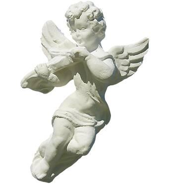 Игрушка из гипса Ангелочек