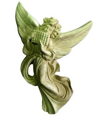 Декоративные ангелы из лепнины (гипс) Де/034