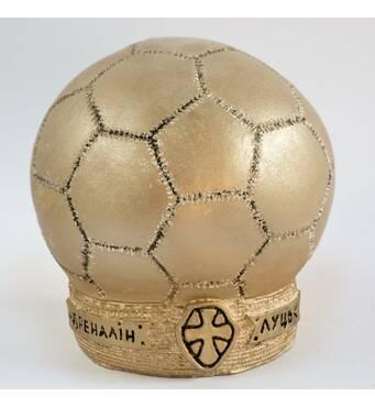 Гипсовая статуэтка футбольный мяч Ст/008
