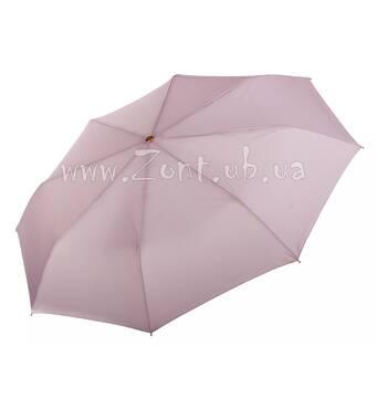 Женский зонт Три Слона пыльно-розовый (полный автомат) арт.3885-9