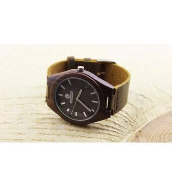 Дерев'яний наручний годинник SkinWood