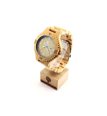 Дерев'яний наручний годинник Maple Classic