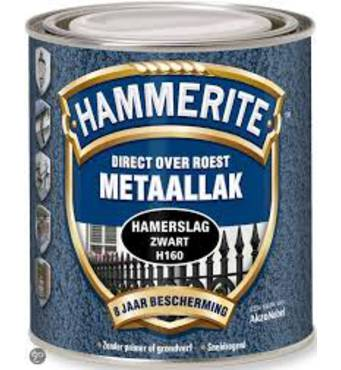 Краска антикоррозийная Hammeritе кирпичная 2,5л.