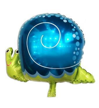 Фольгированный шар Улитка большая 62х48 см (Китай)