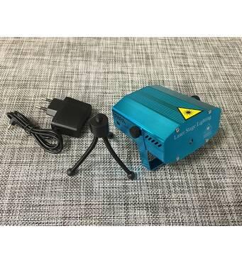 Лазерний проектор Mini Laser stage lighting / АХ-001