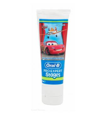 Детская зубная паста Oral-B (Орал-Би) Stages Маквин, 75 ml