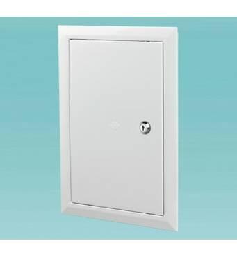 Пластикові ревізійні дверцята з замком Серія Д3