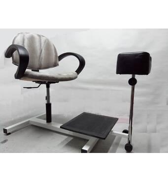 Педикюрне крісло на станині МІНІ