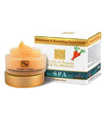 Крем для обличча Health & Beauty зволожуючий, живильний морквяний крем Health & Beauty Moisturizer & Nourishing Carrot Cream 50 мл.