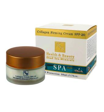 Крем для лица с коллагеном, укрепляющий кожу Health & Beauty Collagen Firming Cream SPF20 50 мл.
