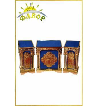 Комплект аналоя (карбування на оксамиті)