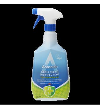 Засіб для дезінфекції Astonish Germ Clear Disinfectant 750 мл Англія