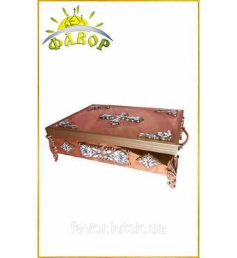 Ковчег для часток святих мощів 24-30 часток (47×32 см)