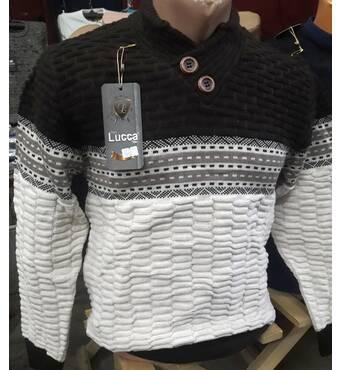 Молодежный теплый свитер  Турция