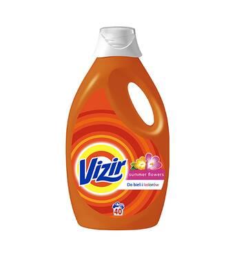 Гель для прання Vizir Summer Flowers 2.6 л 40 прань для білих і кольорових тканин Оригінал