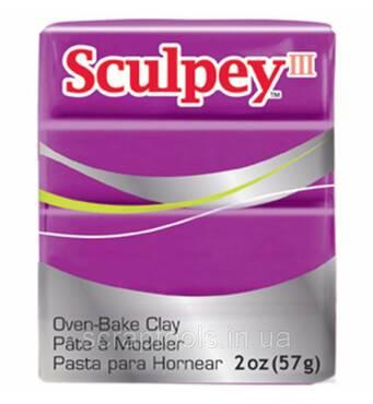 Полимерная глина Sculpey III Polymer Clay Fuchsia Pearl 57 г (715891111123)