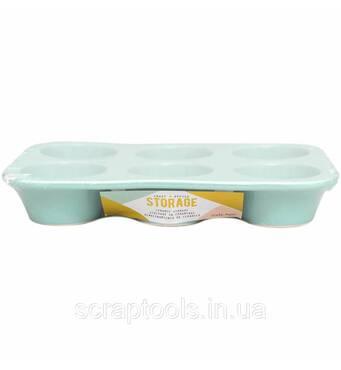 Керамический органайзер от Crate Paper - Desktop Storage Ceramic Organizer - Blue