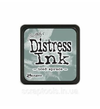 Подушечка з чорнилом Ranger Tim Holtz Distress Mini Ink Pad 3х3 см Iced Spruce (789541040019)