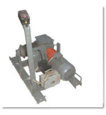 Лебідка електрична ЛЕЧ-0.4-60