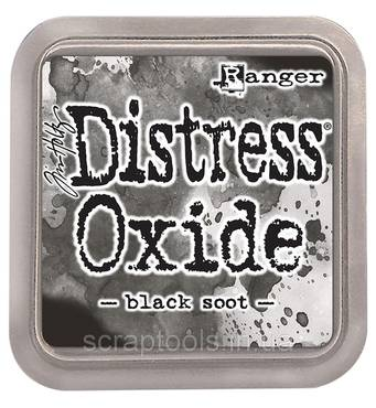 Подушечка Distress Oxides - Black Soot