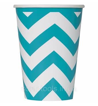 Упаковка скляночок паперових, колір - TEAL (11179386062)