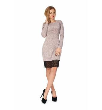 Жіноче повсякденне плаття з гіпюром 1125