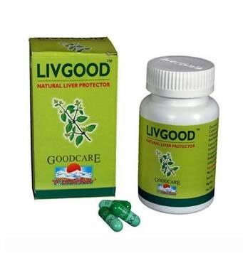 Livgood Лівгуд для печінки Бадьянатх 60 капсул Індія