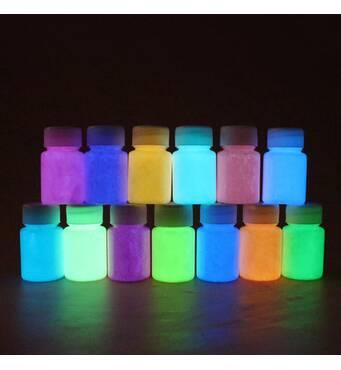 Сяючі люмінесцентні фарби купити недорого