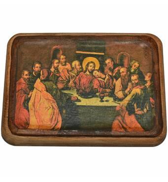 Икона Тайная вечеря. 1698-1705 гг.