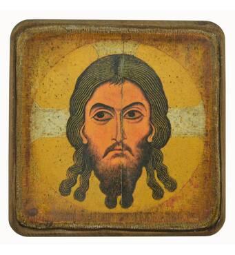 Икона Спас Нерукотворный, XII в