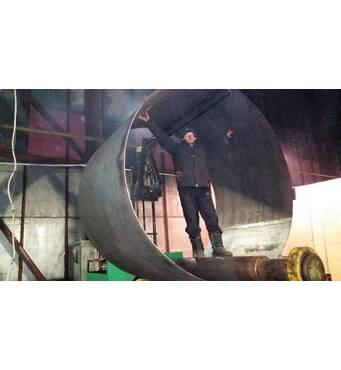 Вальцювання листового металу і профільних труб в Харкові
