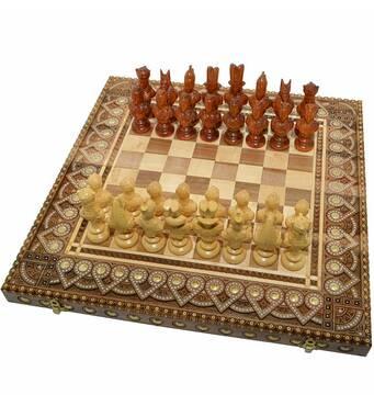 """Сувенирные Шахматы + Нарды """"Египет"""". 50х50 см. Ручная работа"""