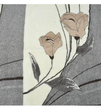 Одеяло из овечьей шерсти, 2х2,2 м. Расцветка Цветы