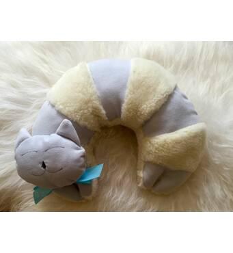 Подушка-рогалик для путешествий