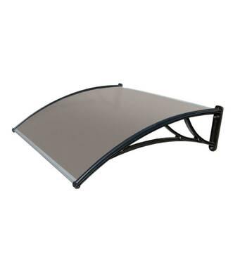 Захисний дашок (козирьок) ТМ TanDen з стільниковим полікарбонатом 4мм 1500*930*280
