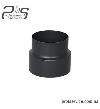 Дымоходная редукция стальная 2 мм 150 мм/200 мм купить оптом