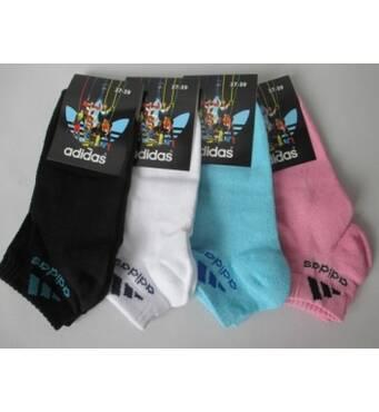 Однотонные летние носки для женщин.
