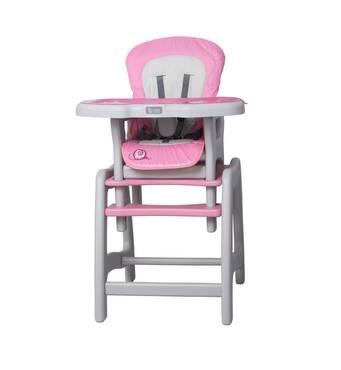 Стільчик для годування 2в1 Stars 10 pink