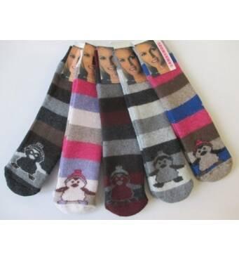 Качественные теплые носки для женщин.