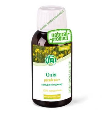 Олія рижієва, 100 мл
