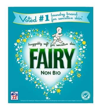 Fairy NON BIO Стиральный порошок 22 стирки 1,43 кг Англия