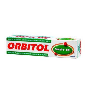 Зубна паста Orbitol Toothapaste Fluoride&Mint 145 гр.