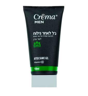 Успокаивающий гель-лосьон после бритья для чувствительной кожи Crema Crema Men After shave Gel Gentle 150 мл.