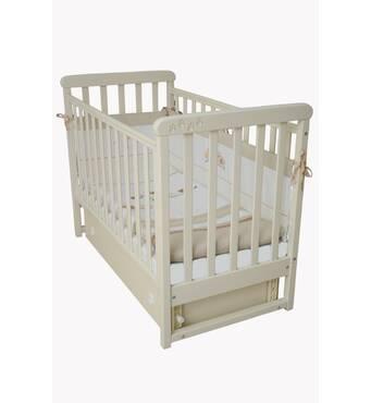 Кроватка детская Соня ЛД12 без колс, на нiжках (сл.к.)
