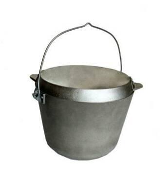 Казан рибальський з кришкою- сковородою 10 л (А:218)