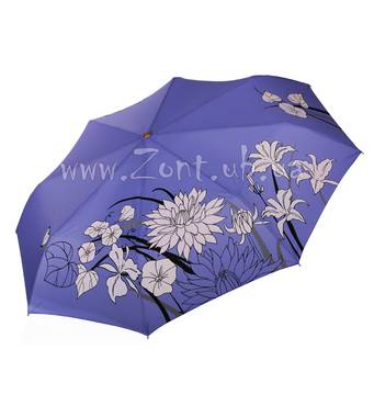 Женский зонт меняющий цвет при намокании Три Слона ( полный автомат ) арт.  L3822-44